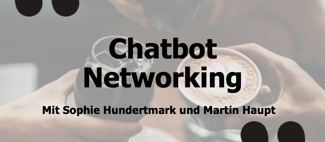 Chatbot Networking Event